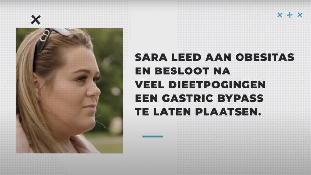 Sara, 8 maanden na haar gastric bypass