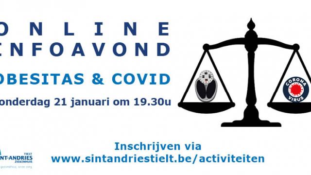Online infoavond Obesitas & COVID